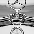 Mercedes Benz Hood Ornament 2 by Jill Reger