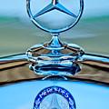 Mercedes Benz Hood Ornament by Jill Reger