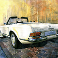 Mercedes Benz W113 280 Sl Pagoda by Yuriy Shevchuk