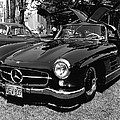 Mercedes Gull Wing Coupe by Underwood Archives