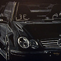 Mercedes Sl  by Richard Le Page