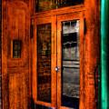 Merchants Cafe Doors by David Patterson
