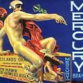 Mercury Greek God Label by Marianne Dow