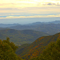 Mercy Me- A Fall View Of Craggy Gardens Nc by Johnnie Stanfield