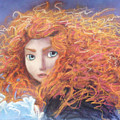 Merida From Pixar's Brave by Andrew Fling