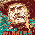 Merle Haggard Pop Art by Jim Zahniser