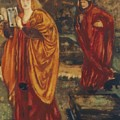 Merlin And Nimue 1861 by BurneJones Edward