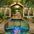 Mermaid Bath by Digital Art Cafe