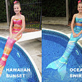 Mermaid Costume For Kids In Canada by Fantasyfin