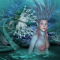 Mermaid Of The Deep Sea 2 by Ali Oppy