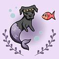 Mermaid Pit Bull 2 by NamiBear