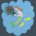 Mermaid by Priscilla Wolfe