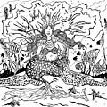 Mermaid Queen by David Dodson
