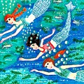 Mermaid Race by Sushila Burgess