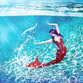 Mermaid Red by Mark Taylor
