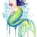 Mermaid Splash by Sam Nagel