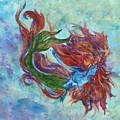 Mermaid Swimming by Zahna Smith