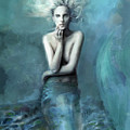 Mermaid Water Spirit by Mark Tonelli