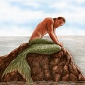 Merman Resting by Bruce Lennon