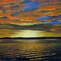 Merritt Island Sunset by Bruce Reigle