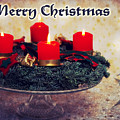 Merry Christmas by Angela Doelling AD DESIGN Photo and PhotoArt