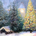 Merry Christmas From Vail by Bunny Oliver