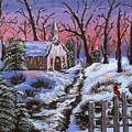 Merry Christmas by Margaret G Calenda