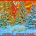 Merry Christmas Polar Bears by Marian Bell