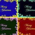 Merry Christmas Pop Art by Snowflake Obsidian
