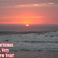 Merry Christmas Sunrise  by Robert Banach