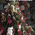 Merry Christmas Teddy Tree by Brenda Kean