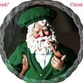 Merry Irish Santa by Ellen Barron O'Reilly