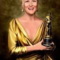 Meryl Streep Winner by Jann Paxton
