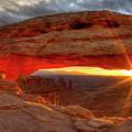 Mesa Arch 6 by Paul Basile