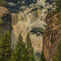 Mesa Falls In Summer by Yeates Photography