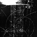 Mesons, Bubble Chamber Event by Science Source