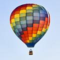 Mesquite Balloon Festival In Mesquite Nevada by Ken Howard