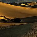 Mesquite Flat Sand Dunes by George Buxbaum