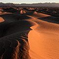 Mesquite Sand Dunes In Death Valley National Park At Sunrise by Pierre Leclerc Photography