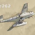 Messerschmitt Me-262 by Nick Delhanidis