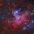 Messier 16, The Eagle Nebula In Serpens by Robert Gendler