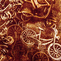 Messy Bike Workshop by Jorgo Photography - Wall Art Gallery