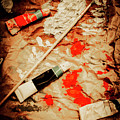Messy Painters Palette by Jorgo Photography - Wall Art Gallery