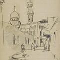 met uitzicht op de Al-Rifai moskee by MotionAge Designs