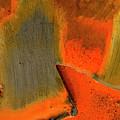 Metal Abstract Three by David Waldrop