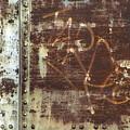 Metal And Rivets 3 by Anita Burgermeister