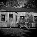 Metal Building On The Grounds At Fort Delaware Near Delaware City by David Wolanski