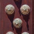 Metal Door Ornaments by Bob Phillips