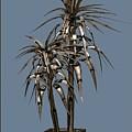 Metal Plant In Pot 14 by Pemaro