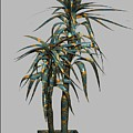 Metal Plant In Pot 4 by Pemaro